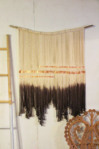 XL Dip Dyed Copper Hanging