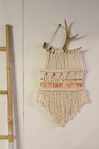 Touch of Copper Deer Antler Hanging