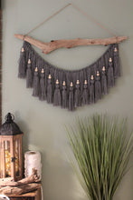 """Allie"" Gray Wall Hanging"