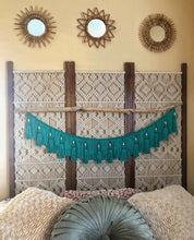 """Milly""Teal Wall Hanging"