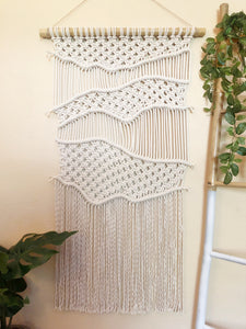 """Evert"" Large Macrame Tapestry"