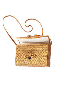 Bukit Rattan Basket Bag
