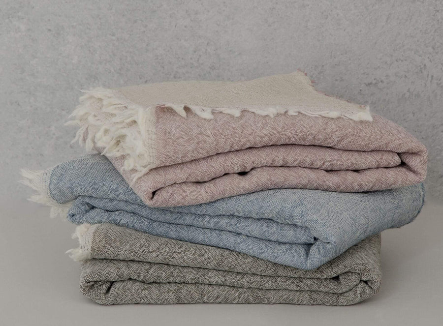 The Madison Collection Blanket Merino Throw
