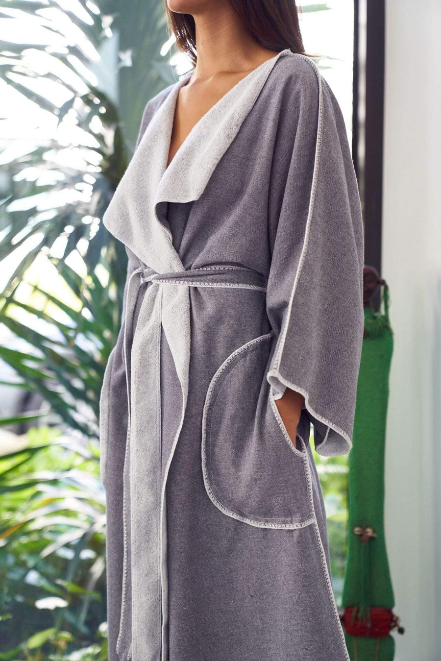 The Madison Collection Robe Marine Robe