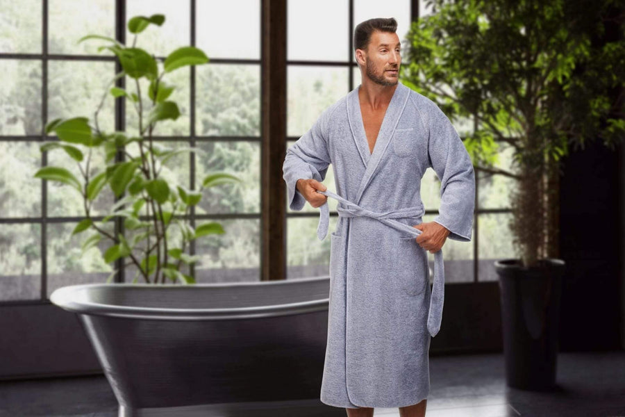 The Madison Collection Mens Robe Tuxedo Robe