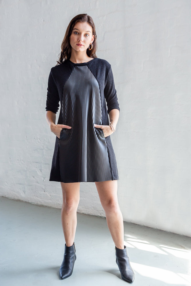 FIONA DRESS BLACK