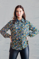 HUNTER BLOUSE FLORAL