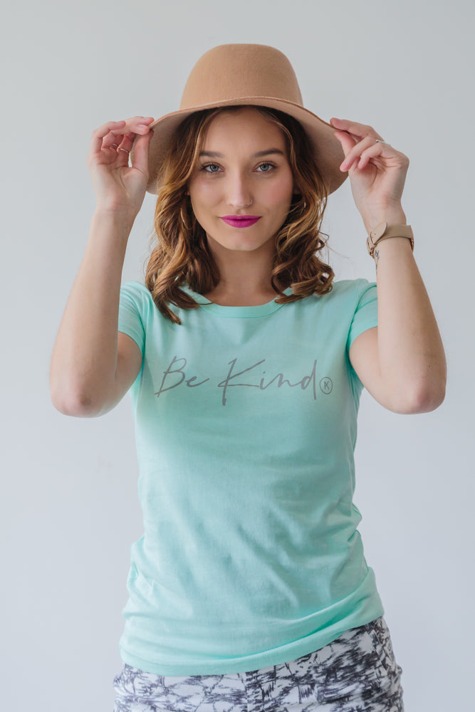 BE KIND TEE MINT