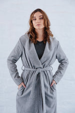 THE SMITTEN COAT GREY