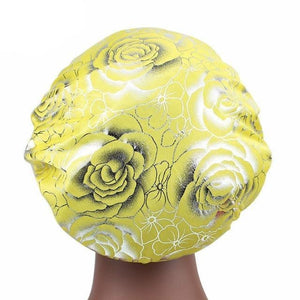 Rose Silk Bonnet