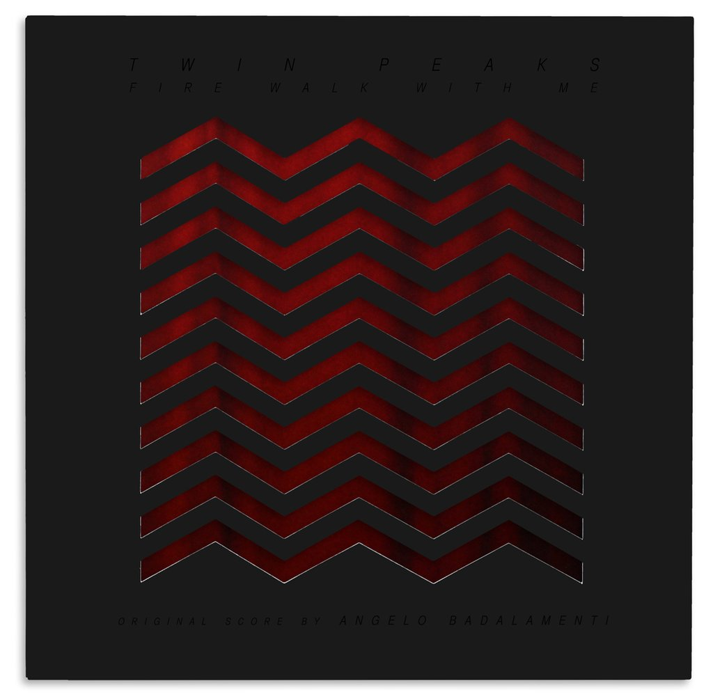 twin peaks: fire walk with me OST limited edition vinyl