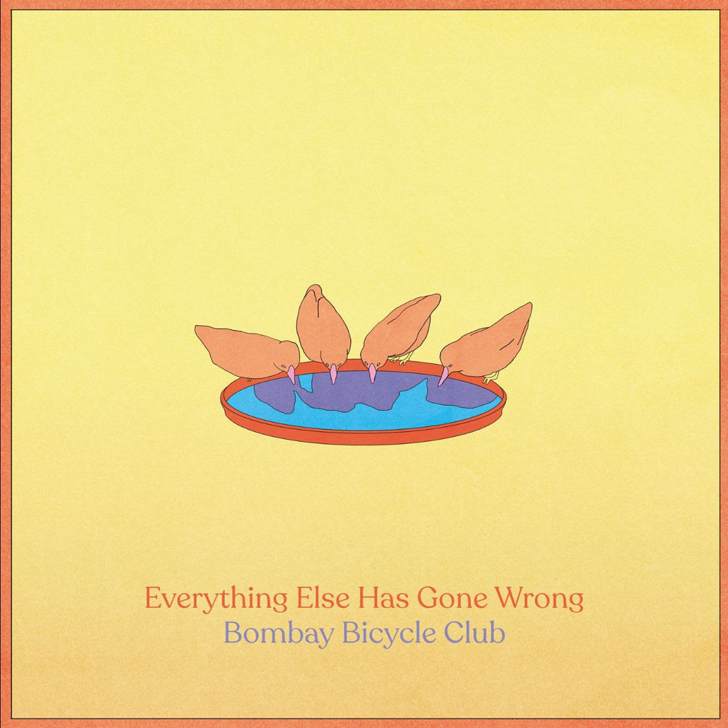 Bombay Bicycle Club - Everything Else Has Gone Wrong limited edition vinyl
