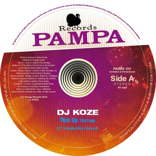 DJ Koze Pick Up limited edition vinyl