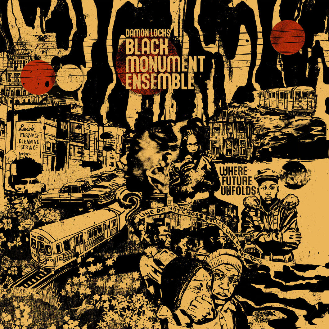 Damon Locks - Black Mountain Ensemble – Where Future Unfolds limited edition vinyl