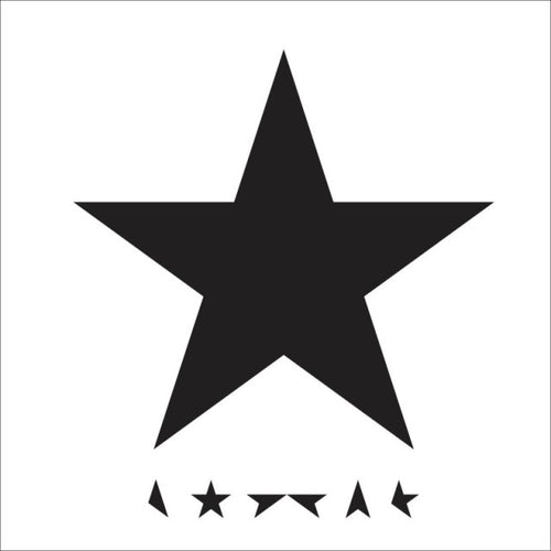 DAVID BOWIE - ★ BLACKSTAR VINYL (DIE-CUT SLEEVE)