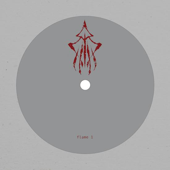 flame 1 (burial & the bug) fog / shrine limited edition vinyl