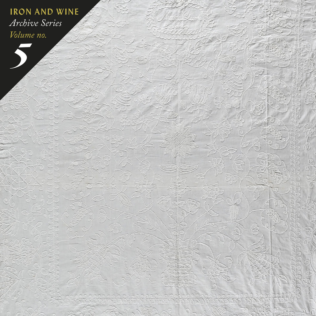 Iron & Wine - Archive Series Volume no. 5: Tallahassee Recordings limited edition vinyl