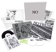 No Trend - Too Many Humans / Teen Love vinyl boxset