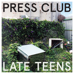 Press Club - Late Teens limited edition vinyl