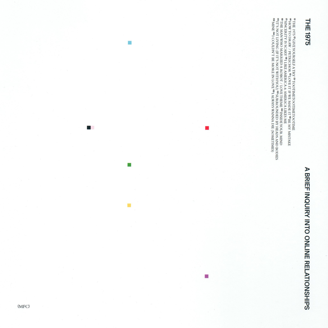 The 1975 - A Brief Inquiry Into Online Relationships limited edition vinyl
