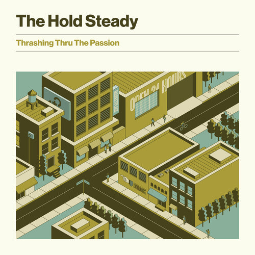 The Hold Steady - Thrashing Thru The Passion limited edition vinyl