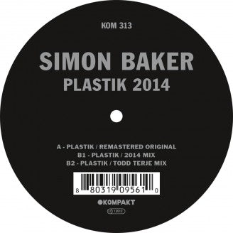 SIMON BAKER - PLASTIK (+ TODD TERJE RE-MIX)