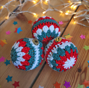 Crochet Baubles