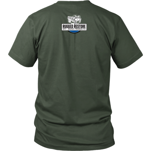 DON'T BE AFRAID TO GET DIRTY UNISEX TEE - DARK - Rugged Restore