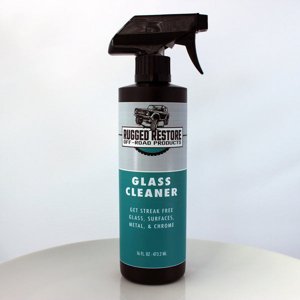 GLASS CLEANER - Rugged Restore