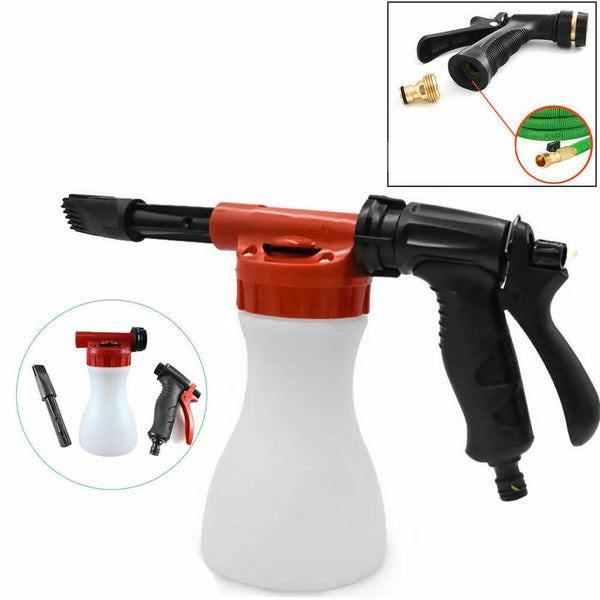 GARDEN HOSE FOAM CANNON WASH KIT