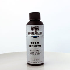 TRIM RENEW BLACK TRIM RESTORER - $24.97 - 4OZ LIMITED SALE