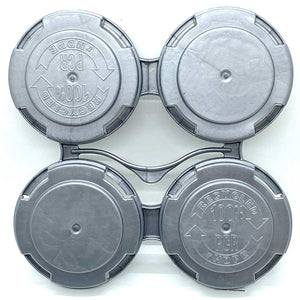 4-pack PakTech carriers for standard 211 cans