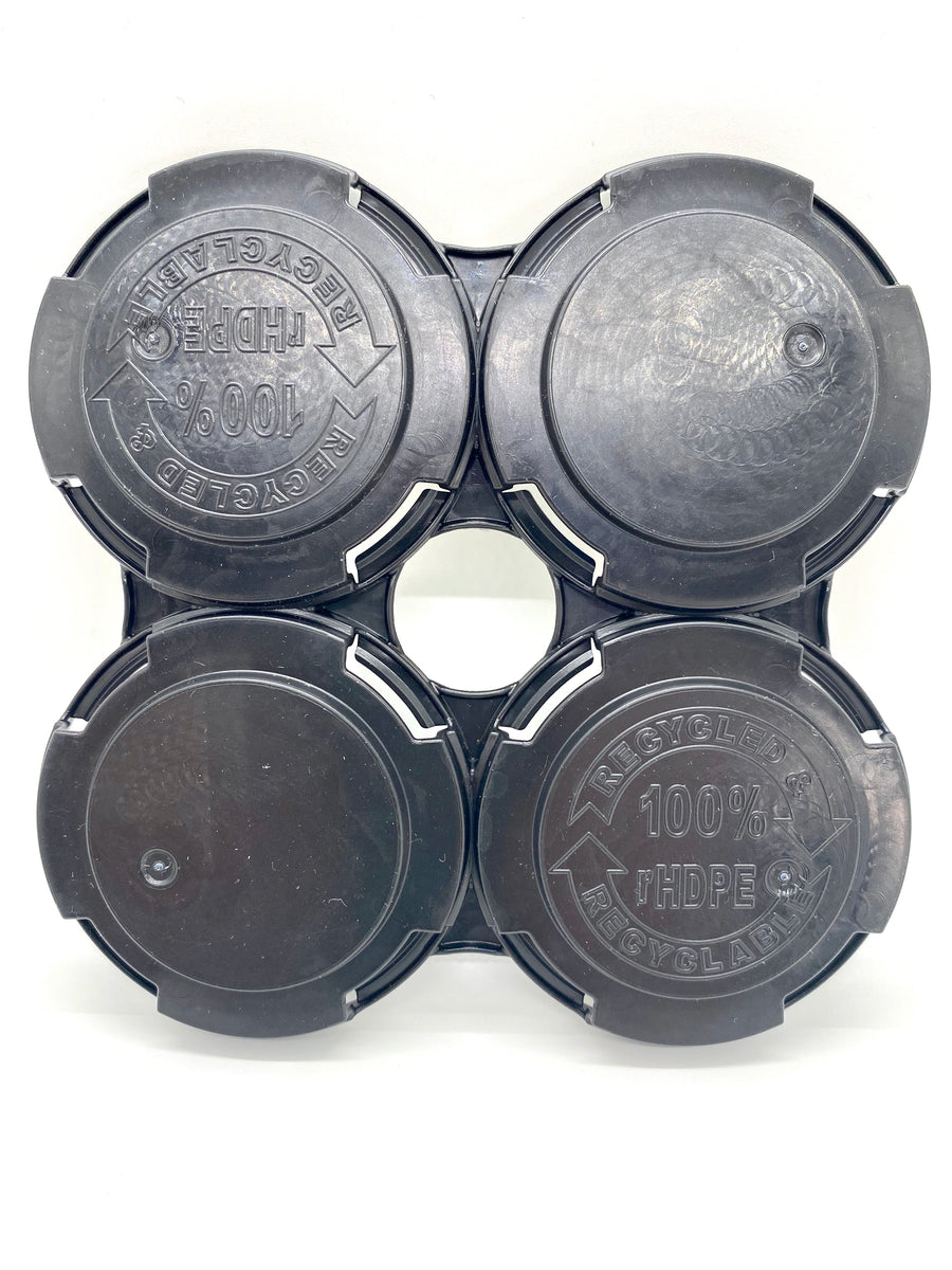 4-pack PakTech carriers for Sleek 204.5 diameter cans