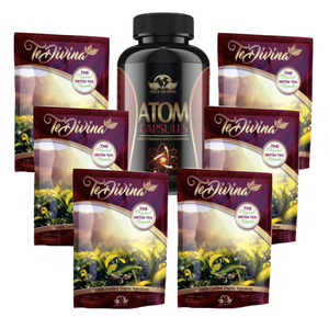 Summer Body Blitz - Atom Capsules & Te Divina - Naturally Divine UK