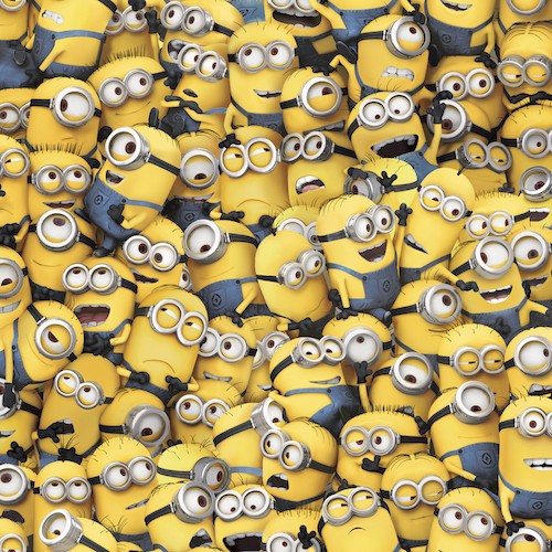 1 in a Minion Packed Minions 23989-S Yellow