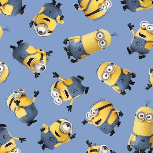 1 in a Minion Tossed Minions 23990-B Blue