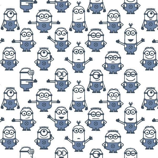 1 in a Minion Graphic Set Minions 23992-Z White