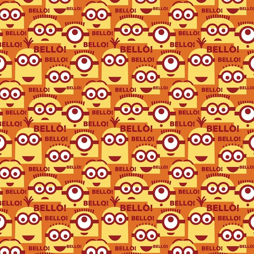 1 in a Minion Bello Minions 23994-O Orange