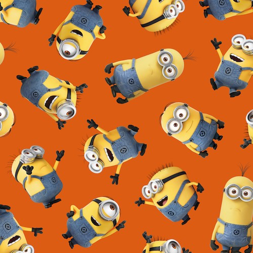 1 in a Minion Tossed Minions 23990-O Orange
