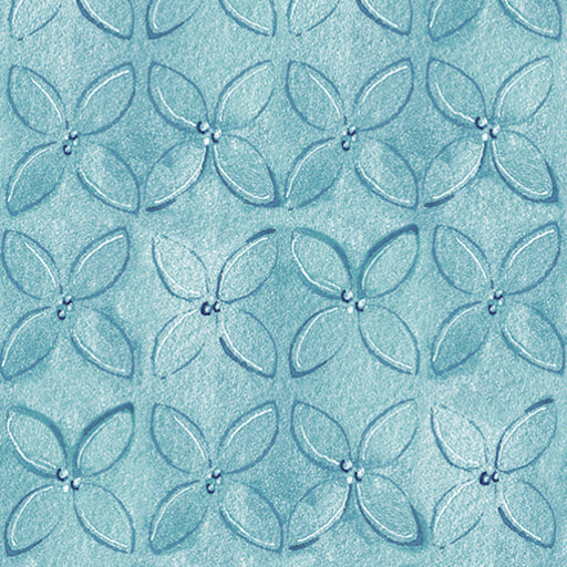 Wild Things - Geometric Flower 23622-B Dusty Blue