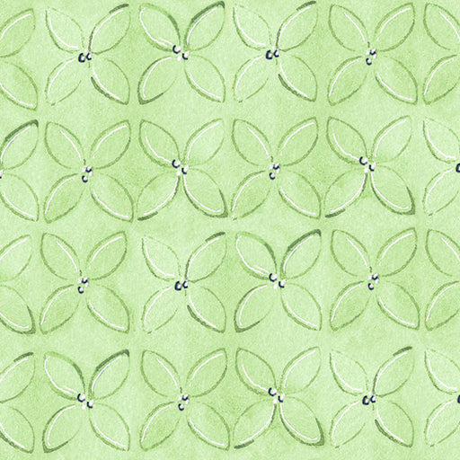 Wild Things - Geometric Flower 23622-H Light Green