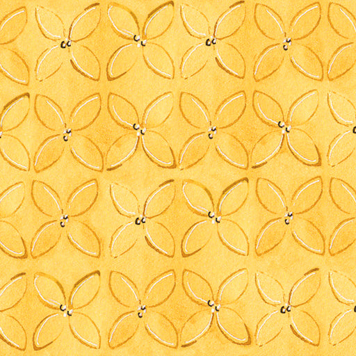 Wild Things - Geometric Flower 23622-S Yellow