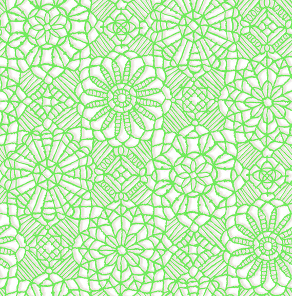 Amazing Lace 24632-ZG White/Spring Green