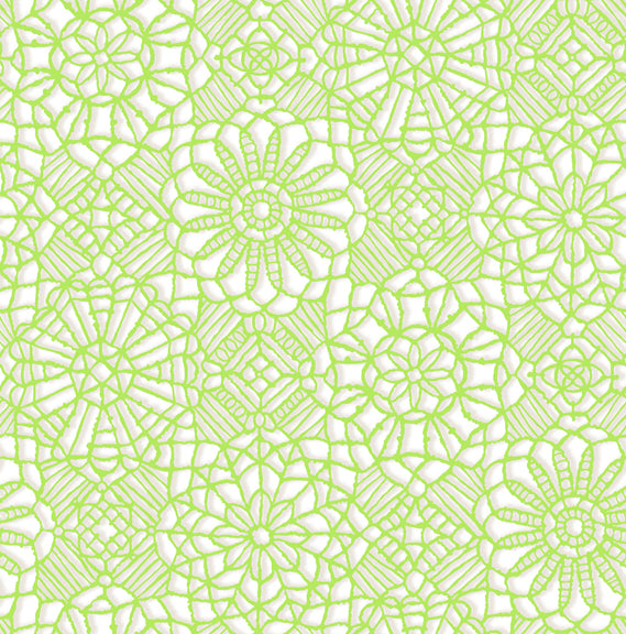 Amazing Lace 24632-ZH White/Lime
