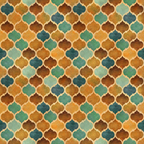 Arabesque Tonal Geometric 24647-A Tan