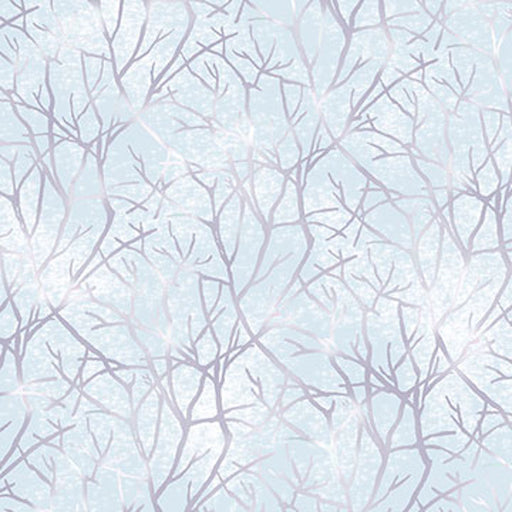Jacqueline - Branches 26561-W Pale Chambray