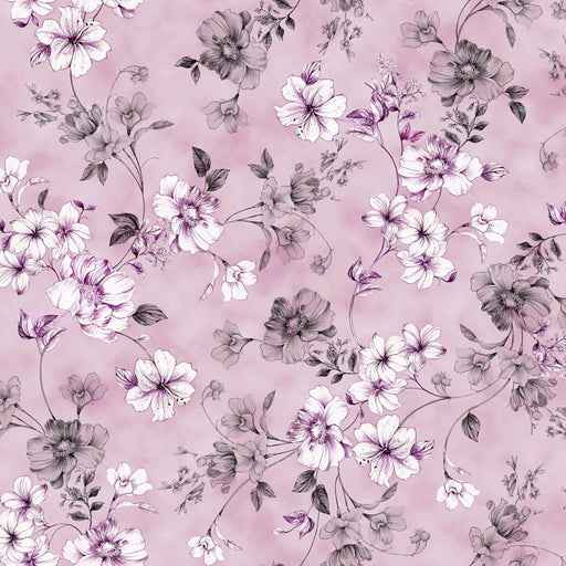 Juliette - Spaced Floral Vine 26814-L Lavender