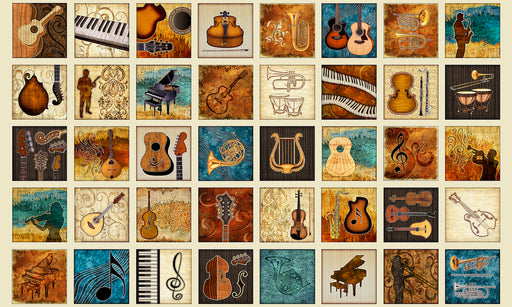 Encore! Musical Instruments Patches 27013-E Ecru