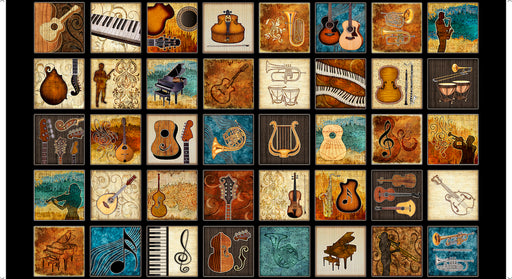 Encore! Musical Instruments Patches 27013-J Black