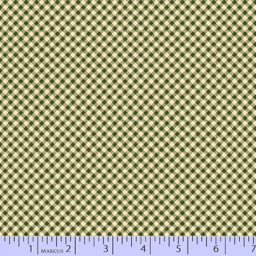 Wrapped In Joy Gingham 2786-0114 Green